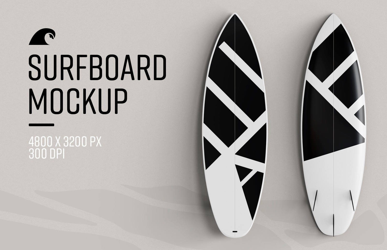 Surfboard Mockup Preview 1