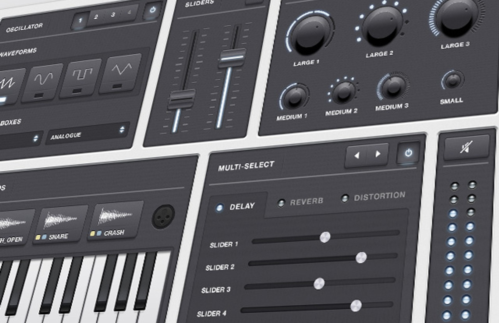 Synth  Retina  Ui  Kit  Preview1