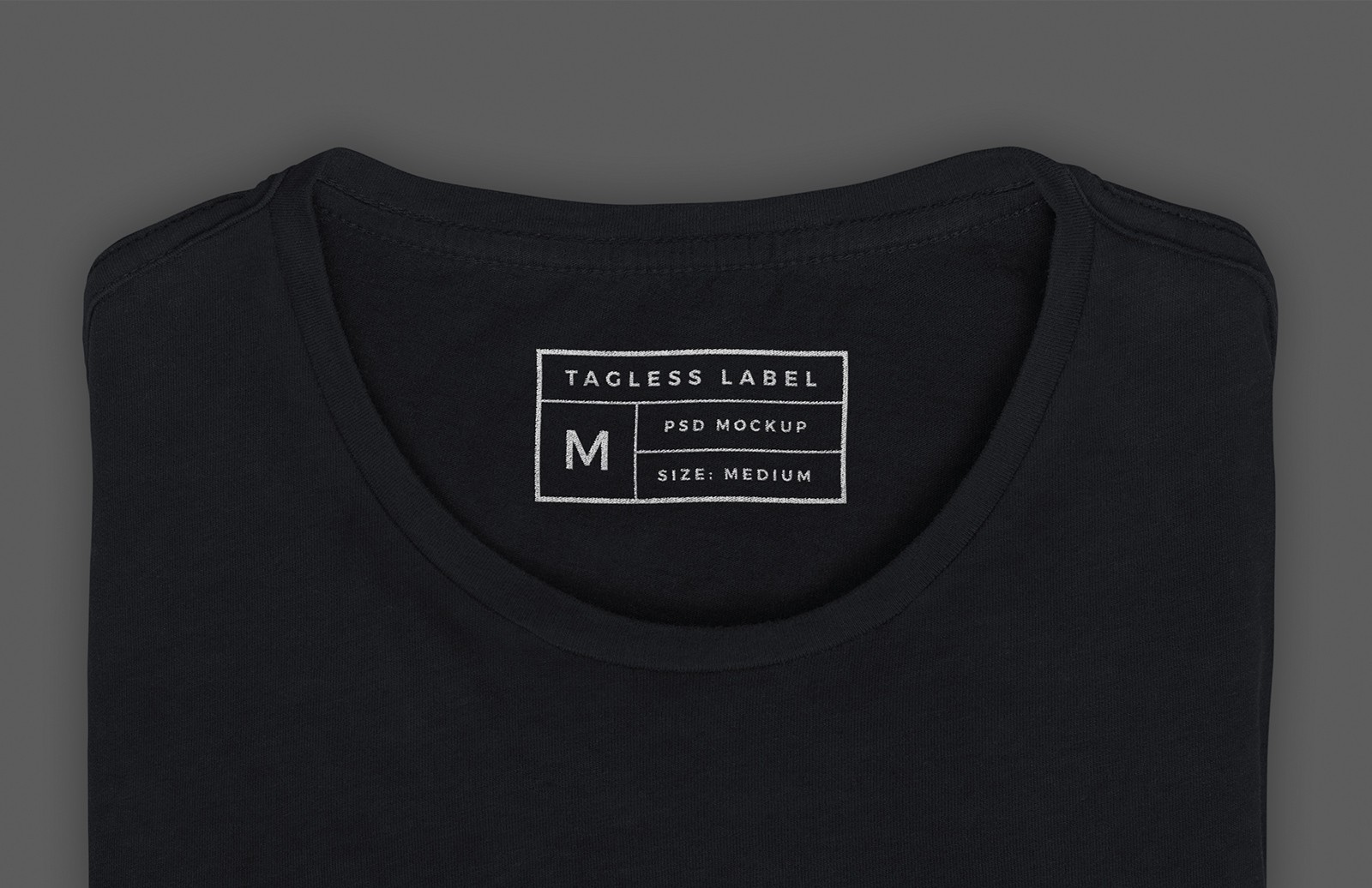 Apparel Tag Inside Label Mockup