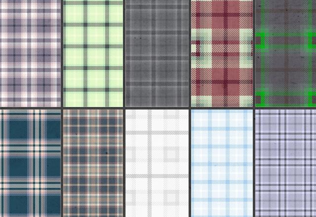 Large Tartan  Plaid  Patterns  Preview3