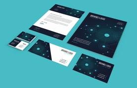 Tech Business Stationery Set