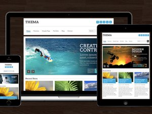 Thema - Responsive HTML Template 1