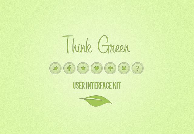 Think Green UI Kit