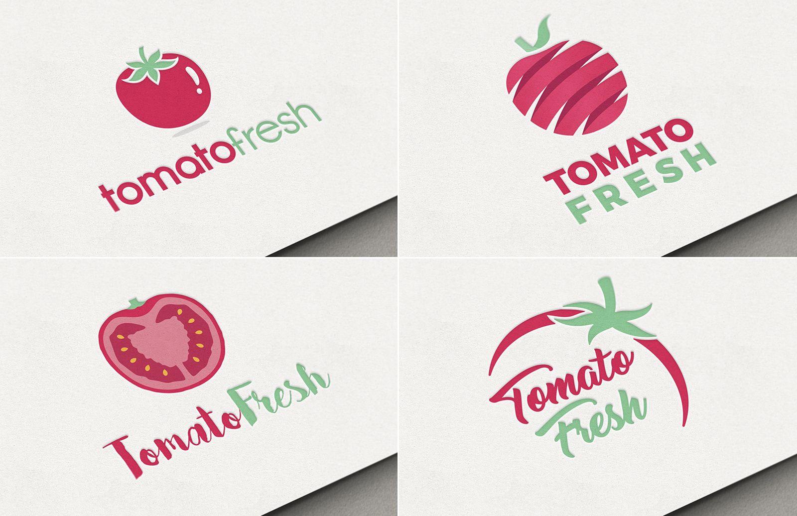 Tomato Restaurant Logo Pack Preview Cover