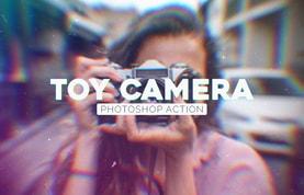 Toy Camera Photoshop Action