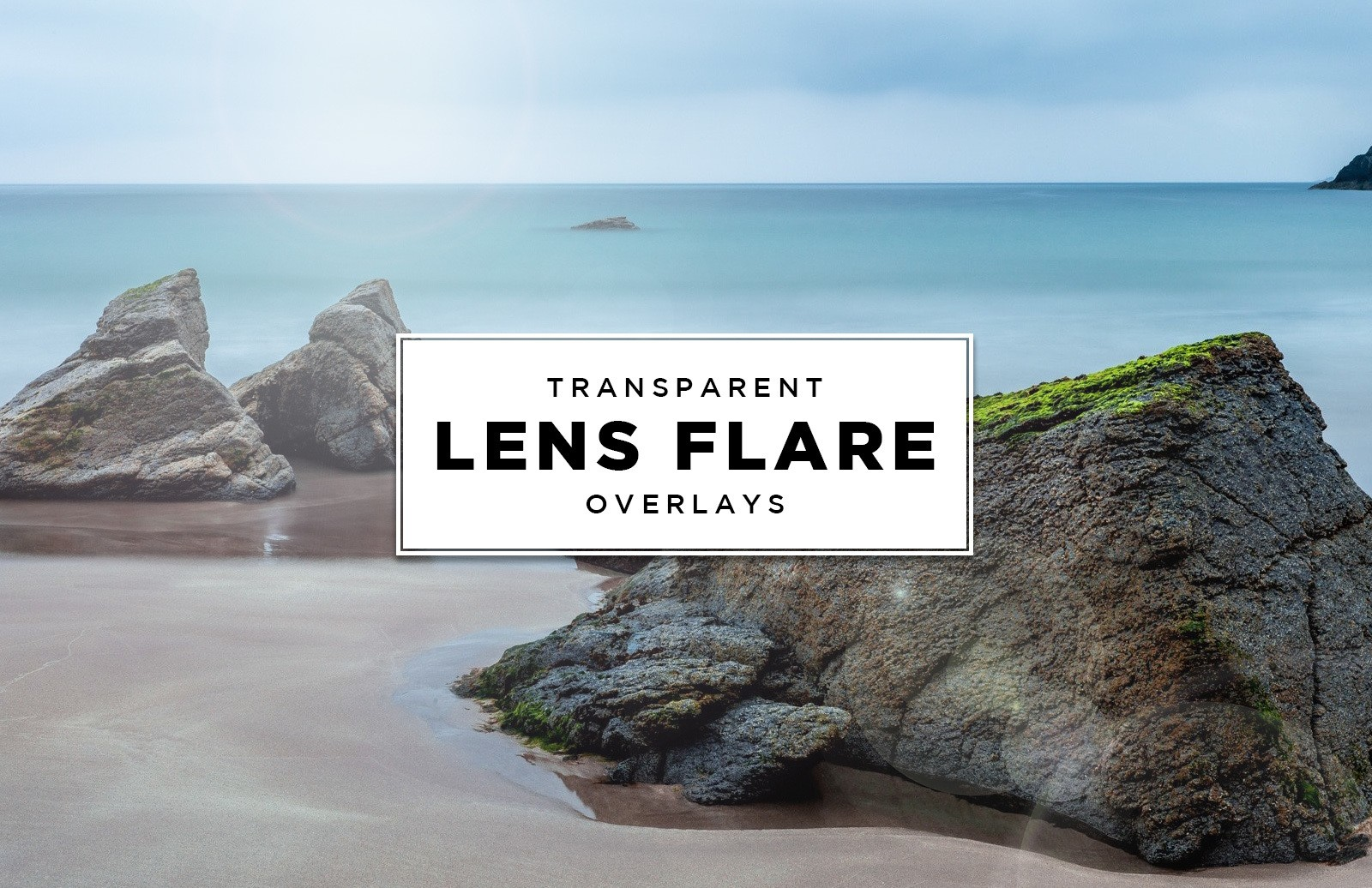 Transparent Lens Flare Overlays