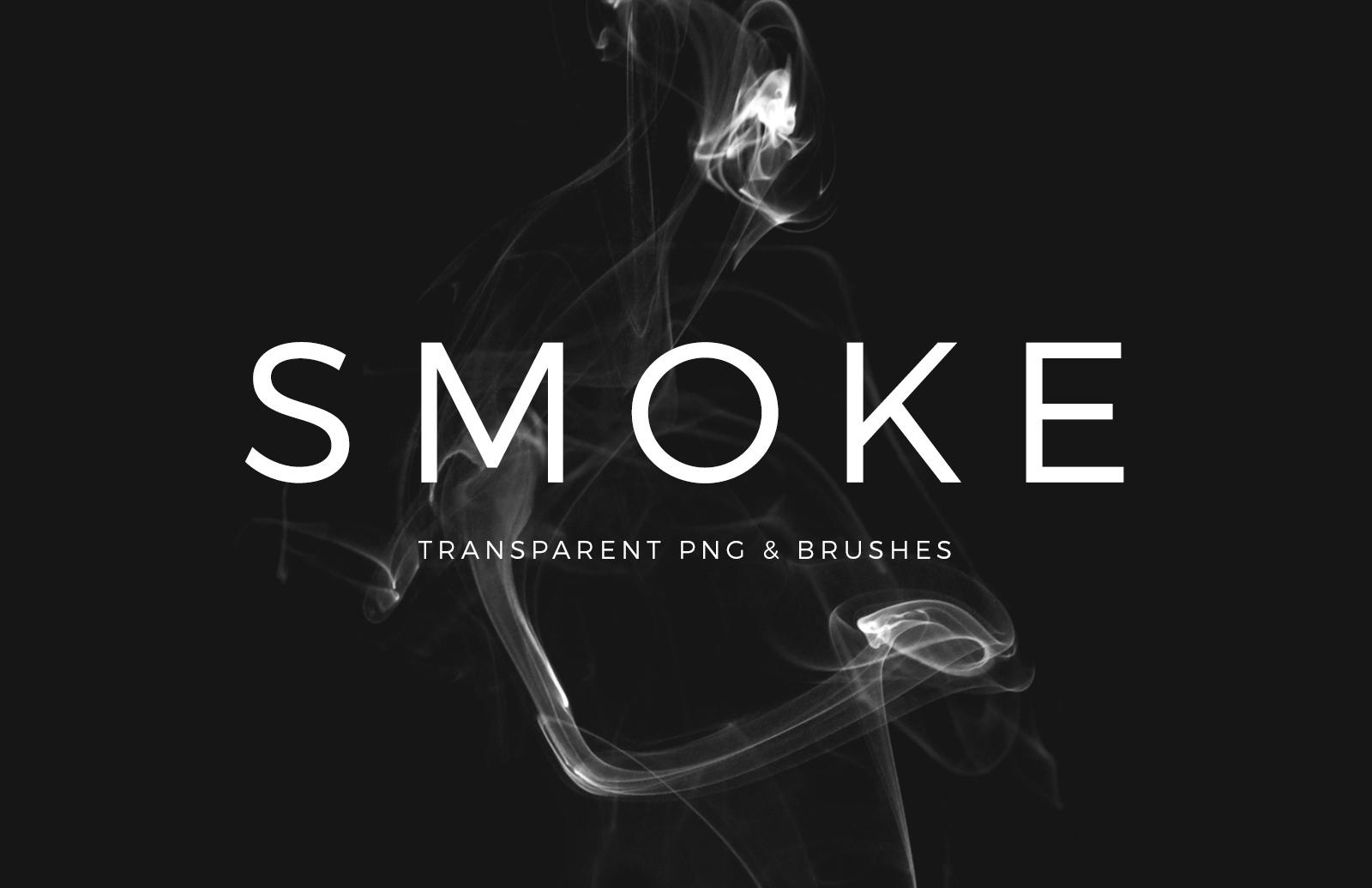 Smoke Transparent PNG & Brushes 1