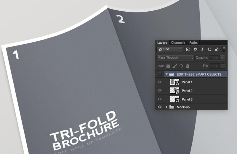Tri  Fold  Brochure  Mockup 2  Preview 3