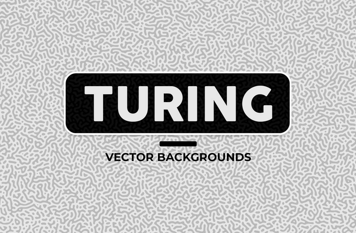 Turing Vector Backgrounds