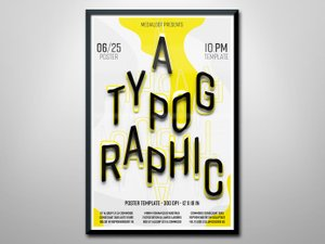 Typographic Poster Template 1