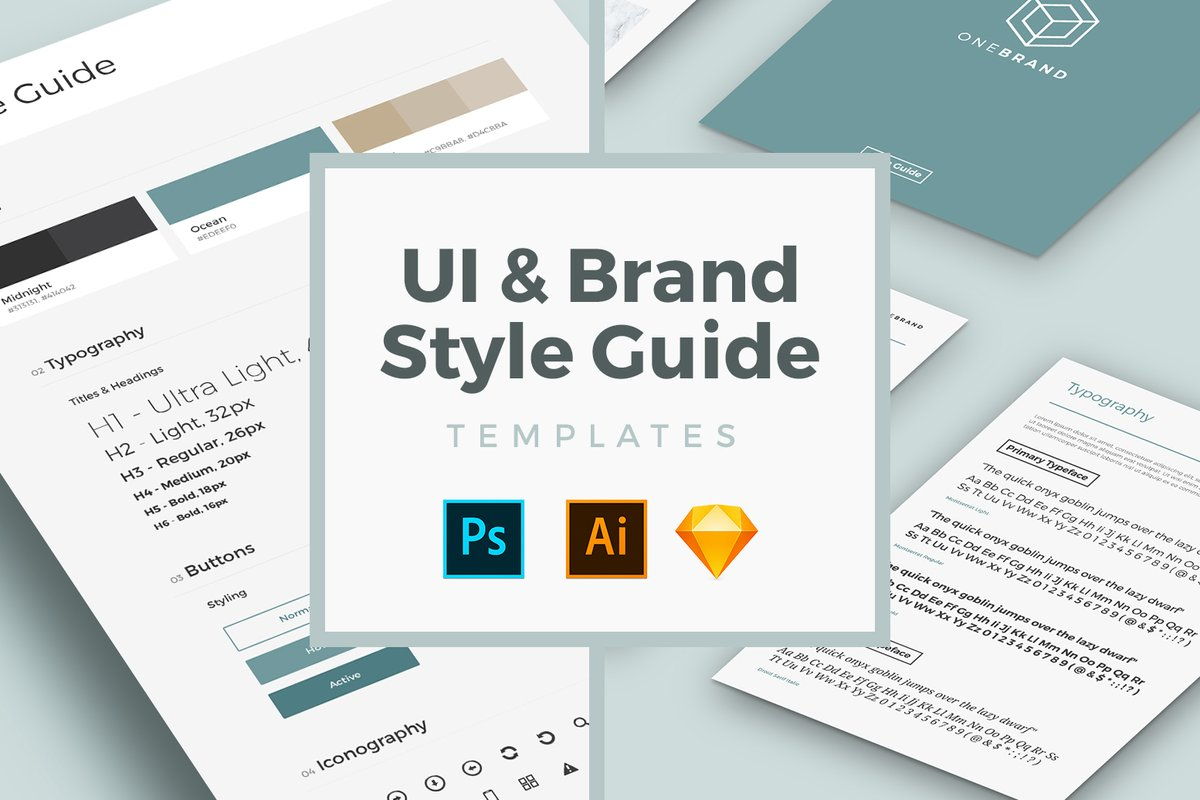 Brand Style Guide Examples, Hand-picked by Saijo George