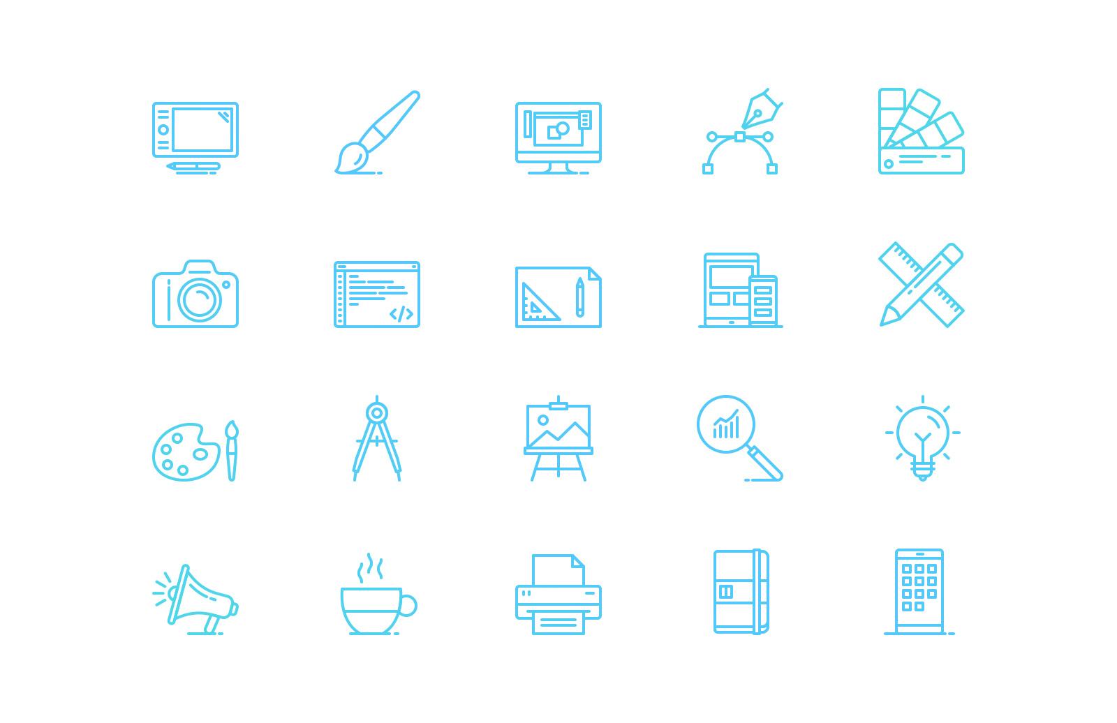 UI & Graphic Design Line Icons 2