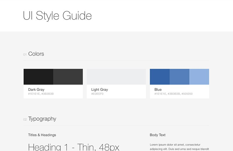 Ui  Style  Guide  Preview 1