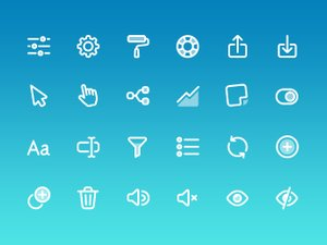 Free User Interface Vector Icons 2