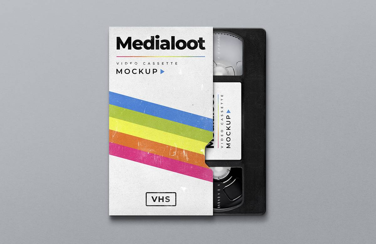 Vhs Cassette Cover Mockup Preview 1