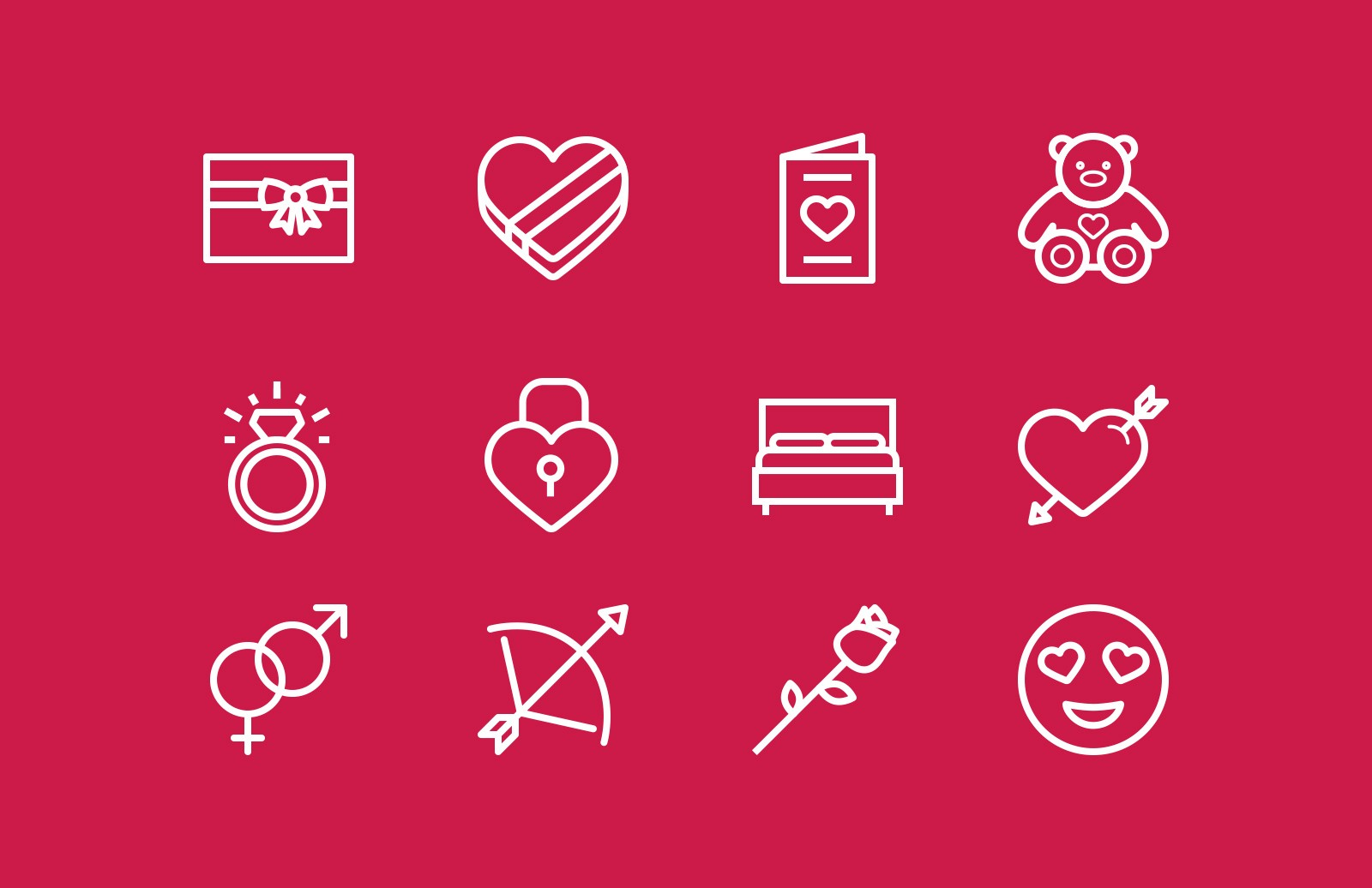 Valentine S Day Vector Icons Medialoot
