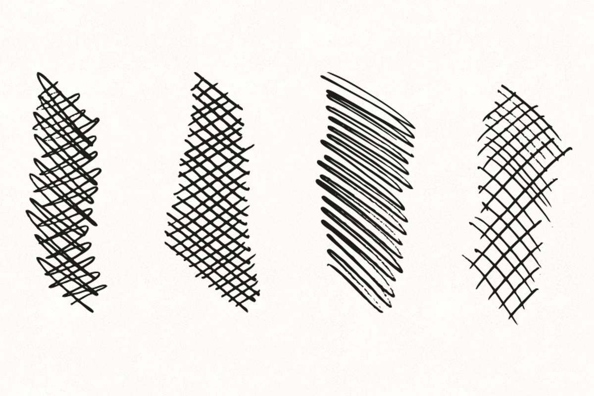 Vector Crosshatch Brushes — Medialoot