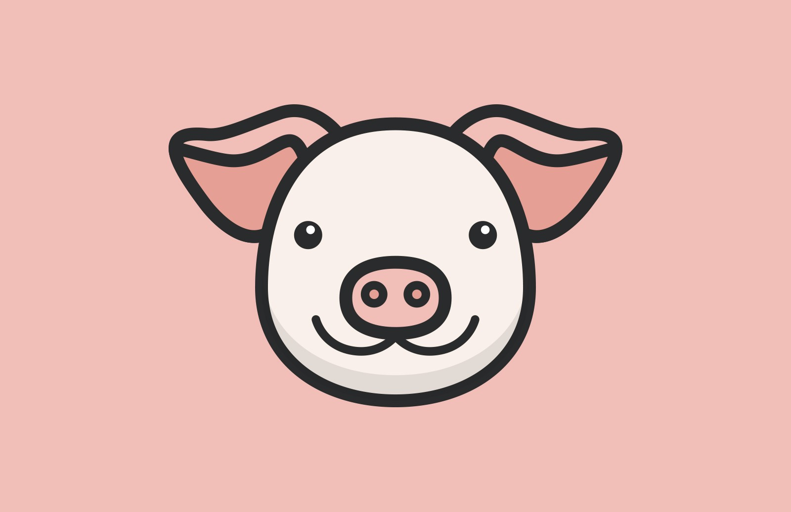 Cute Vector Animal Faces