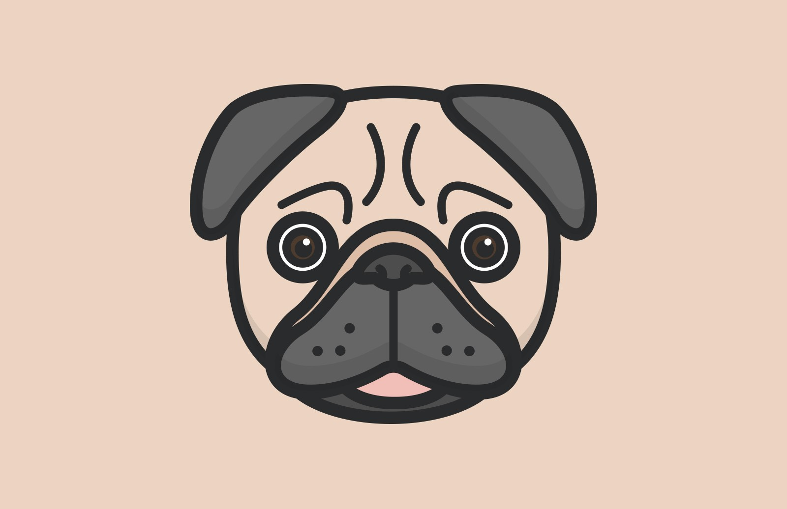 Large Vector  Animal  Faces  Preview 2