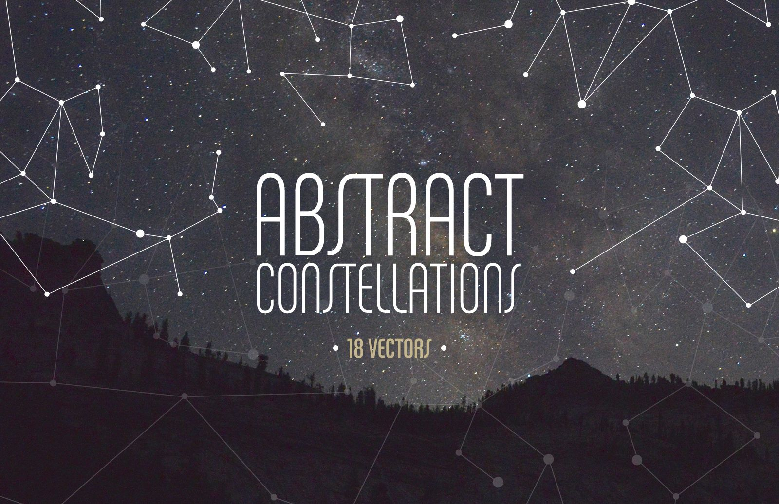 Vector  Abstract  Constellations  Preview 1
