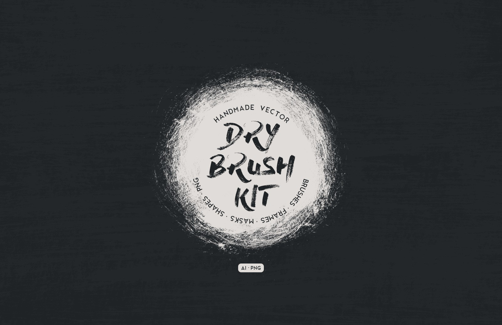 Vector Dry Brush Kit Preview 1
