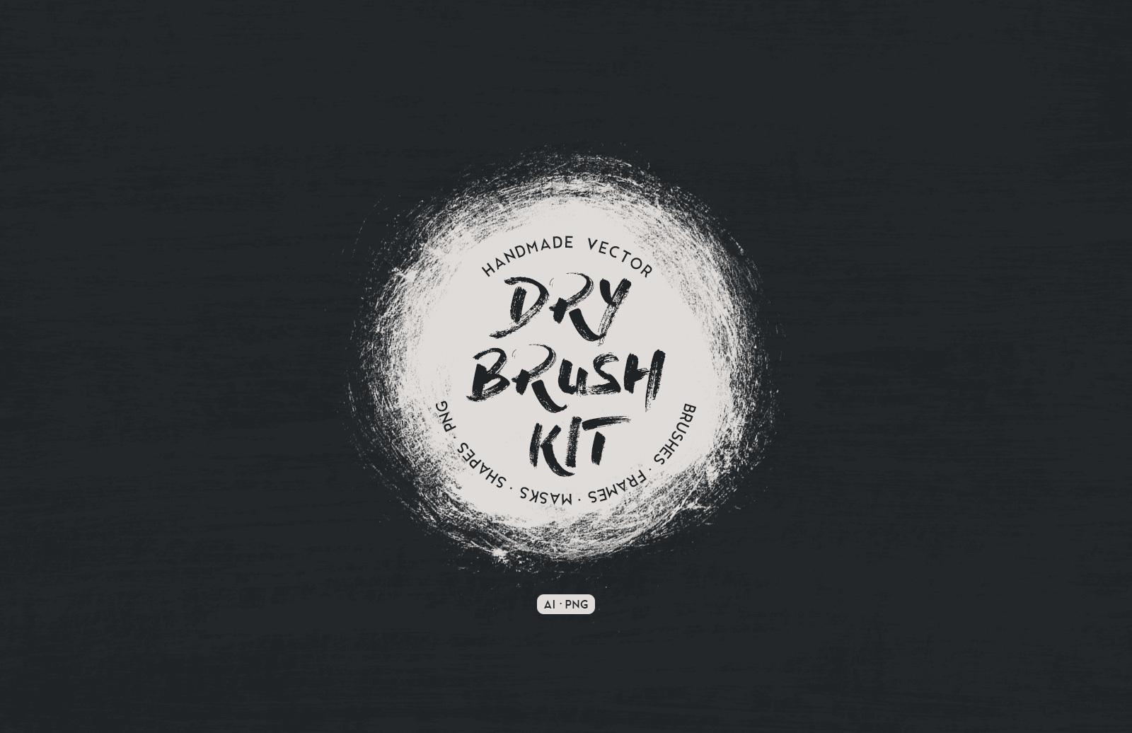Vector Dry Brush Kit Preview 1