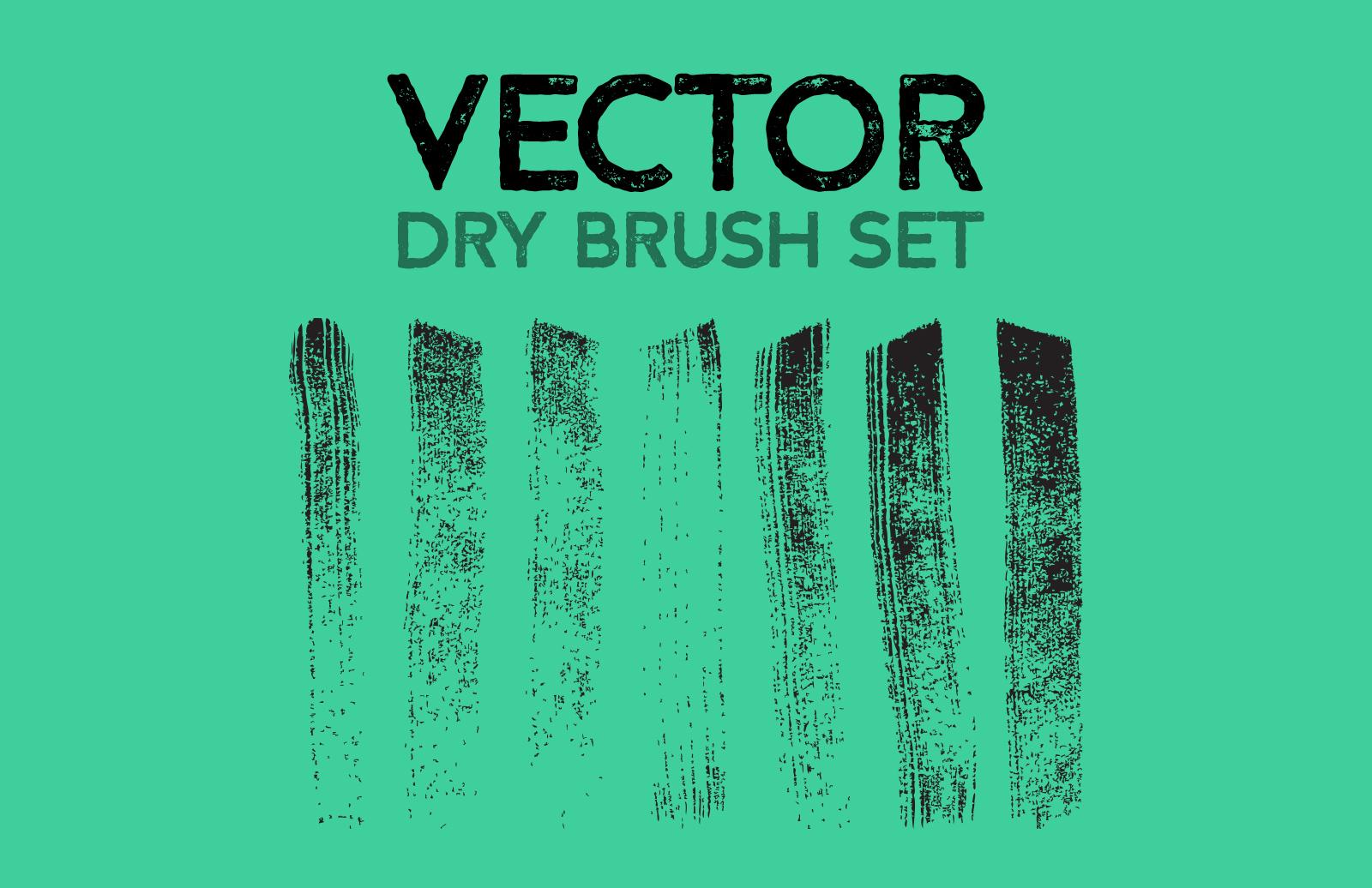 Vector Dry Brush Set 1
