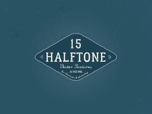 Vector Halftone Textures 1