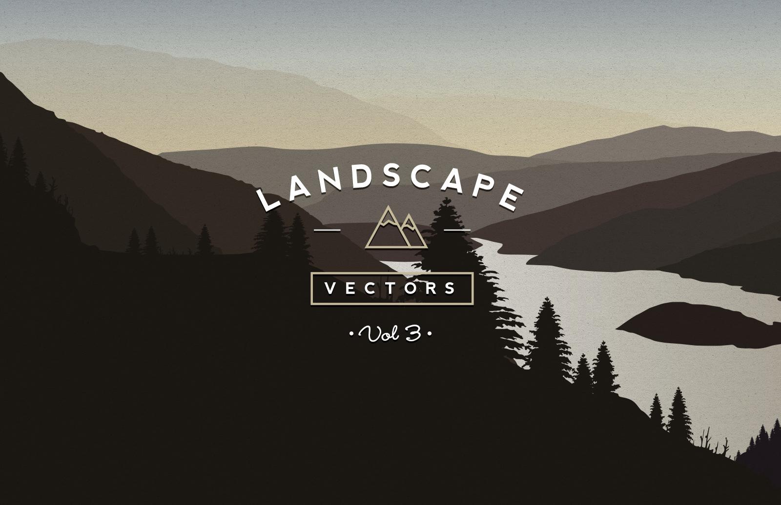 Vector  Landscapes  Vol 3  Preview 1