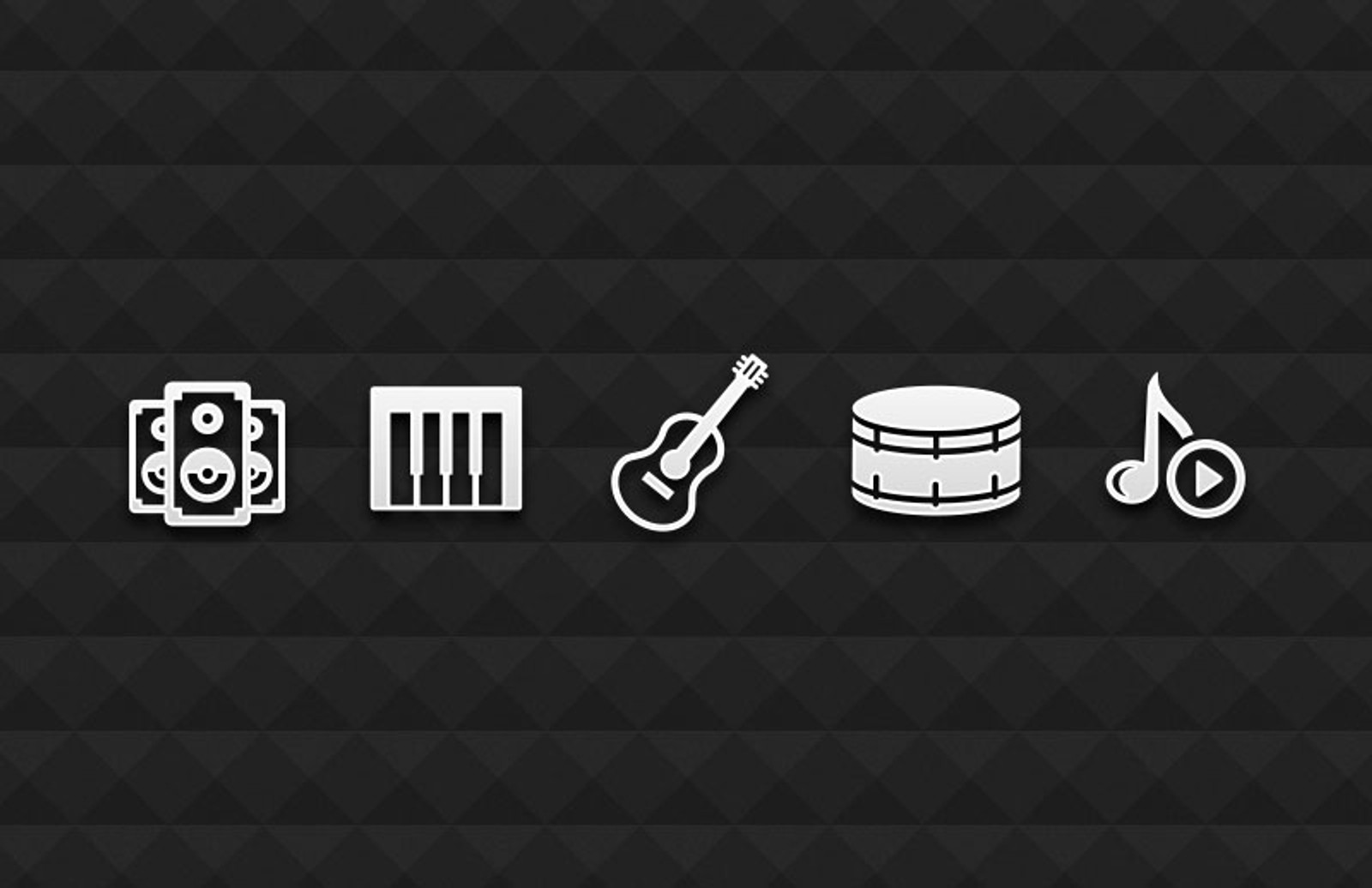 Vector  Music  Icons 800X518 1