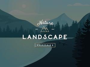 Vector Nature Landscapes 1