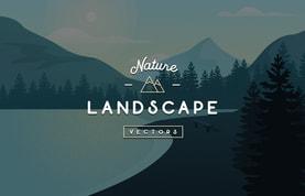 Vector Nature Landscapes