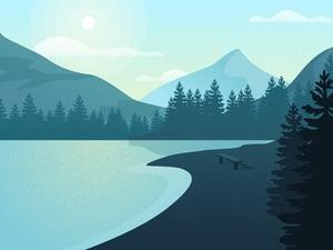 Vector Nature Landscapes 2