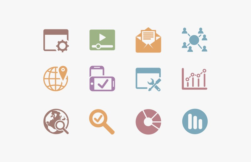 Vector  Seo  Icons  Preview 1