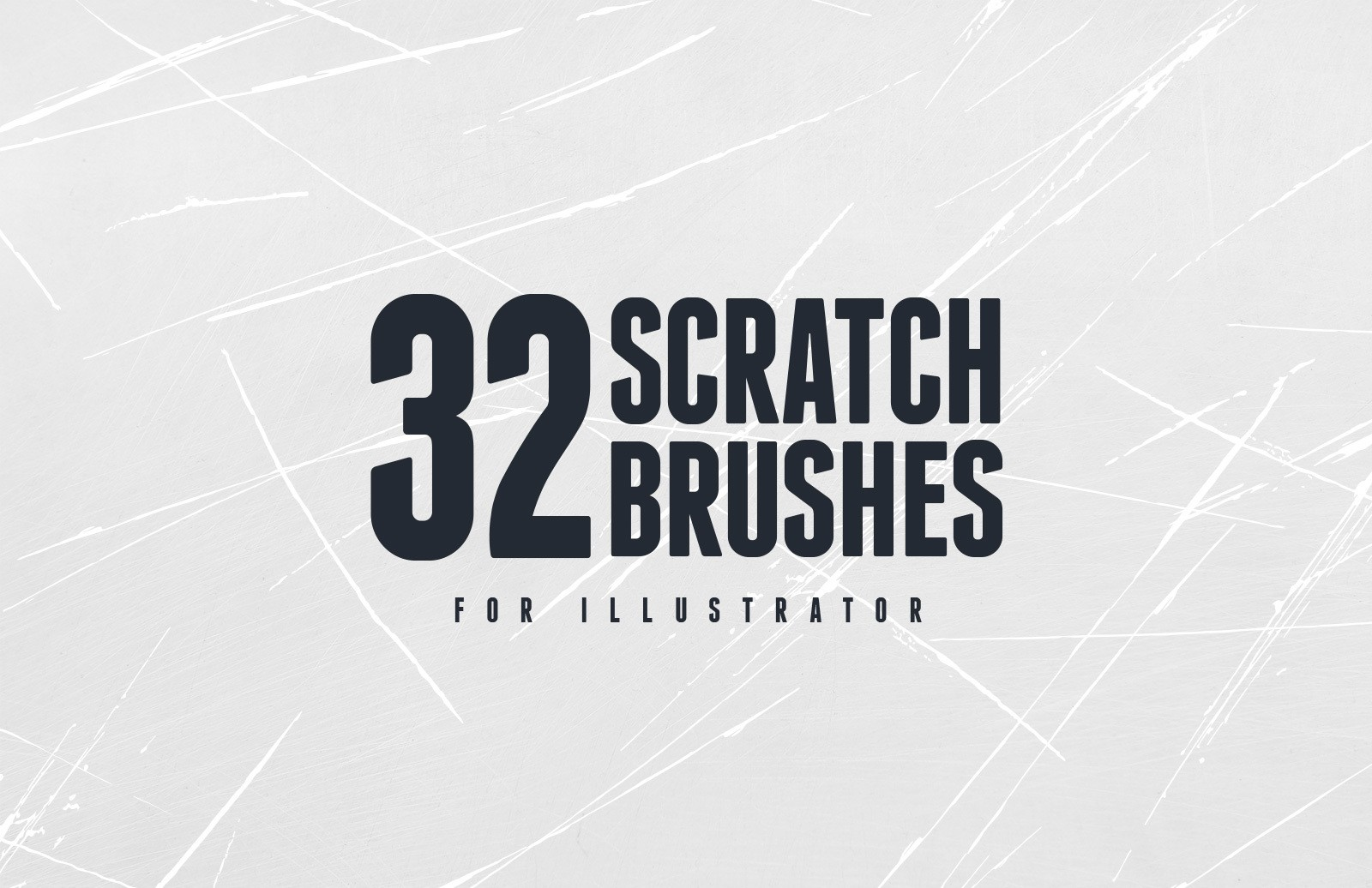 Vector Scratch Brushes Preview 1A