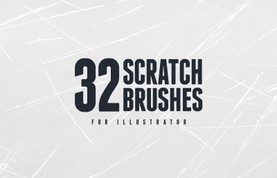 Free Vector Scratch Brushes