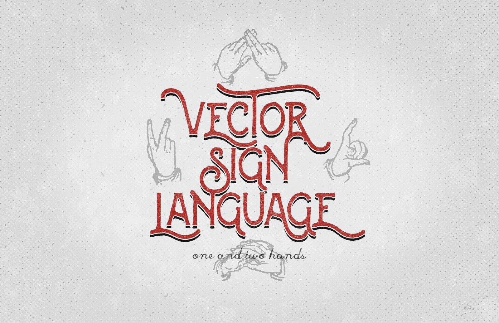 Vector Sign Language Preview 1