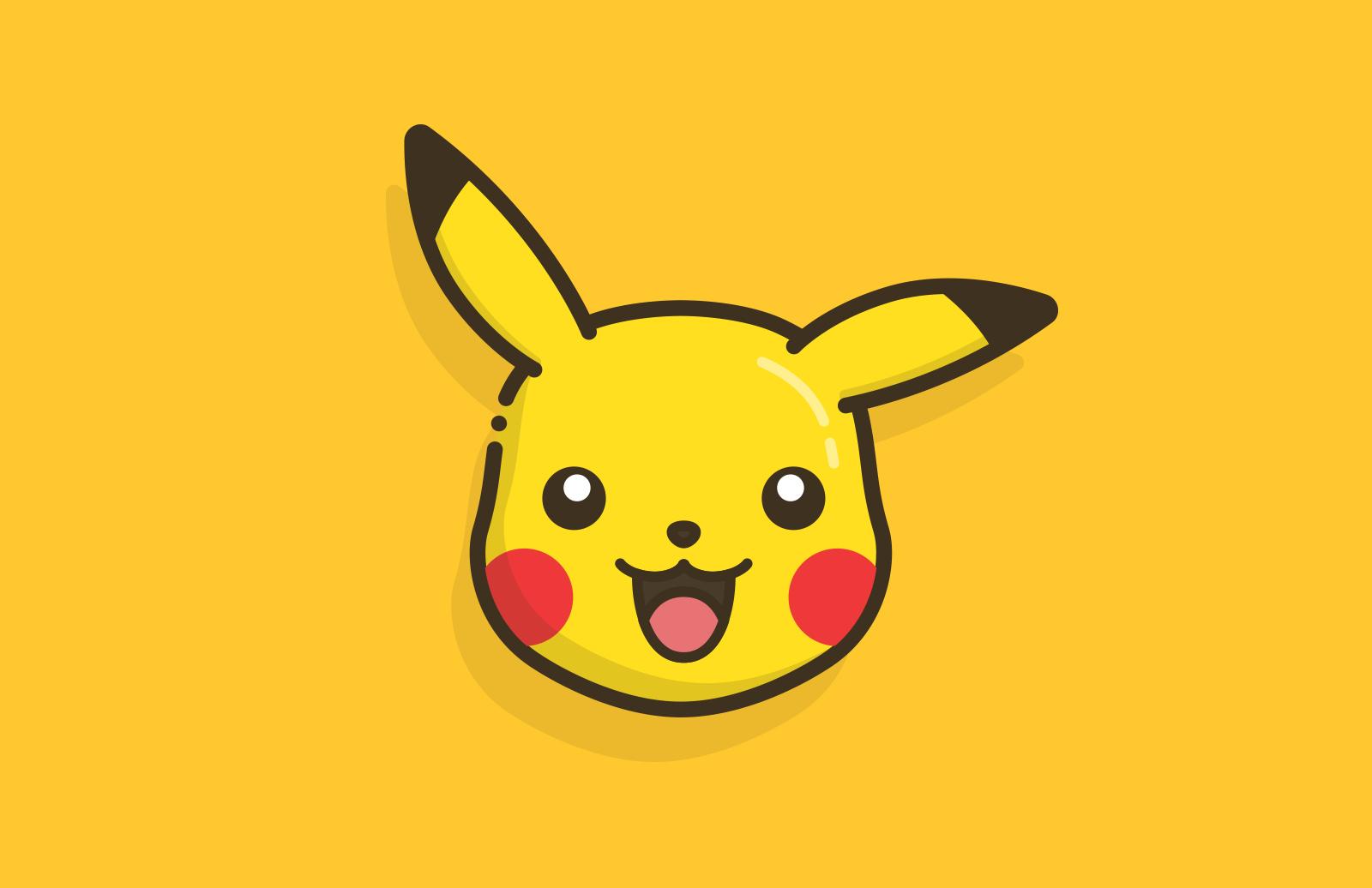 Vector Pokémon Faces 1