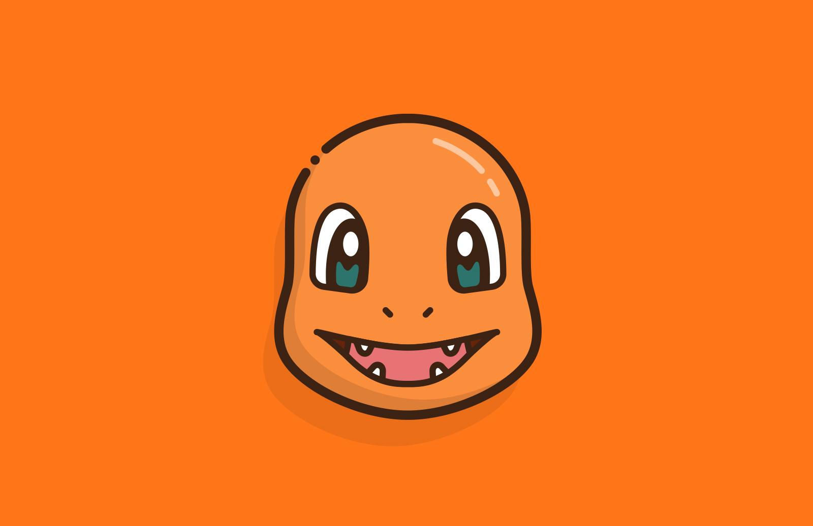 Vector Pokémon Faces 2