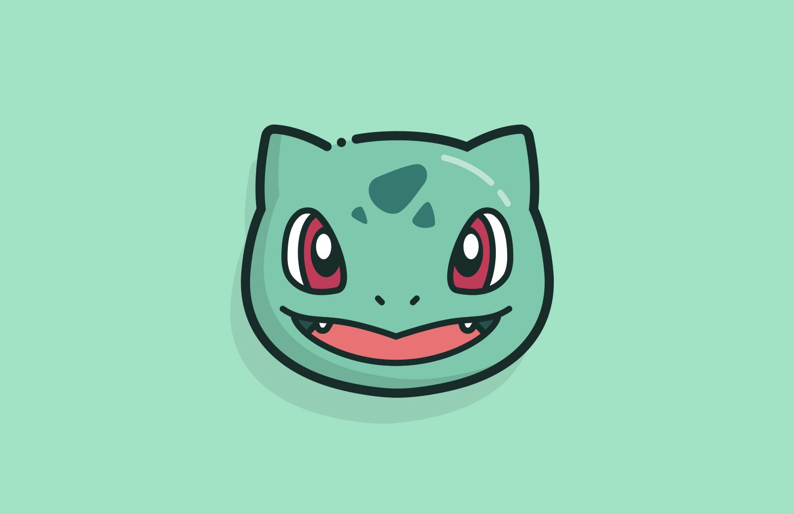 Vector  Pokemon  Faces  Preview 3B
