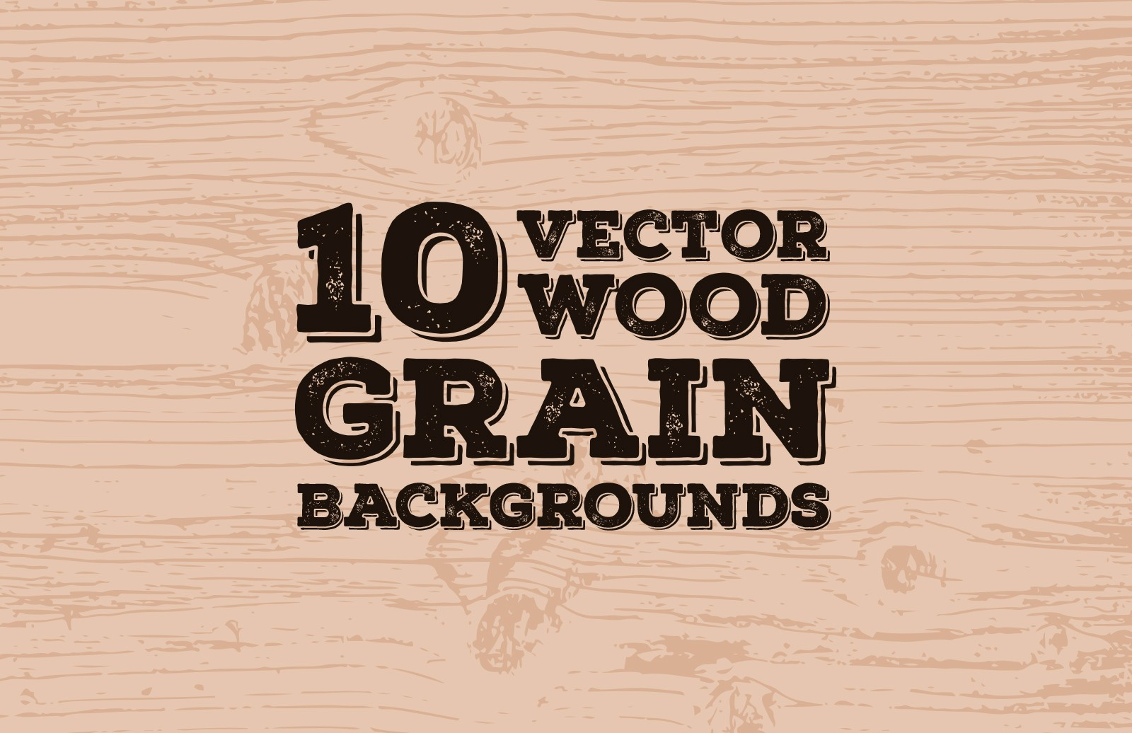 Vector Wood Grain Backgrounds