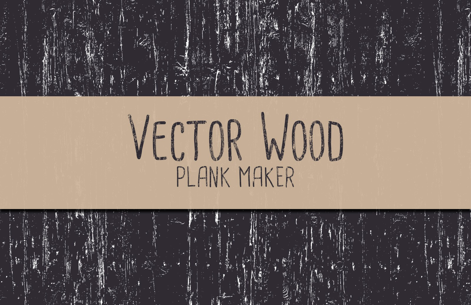 Large Vector Wood Plank Maker Preview 1