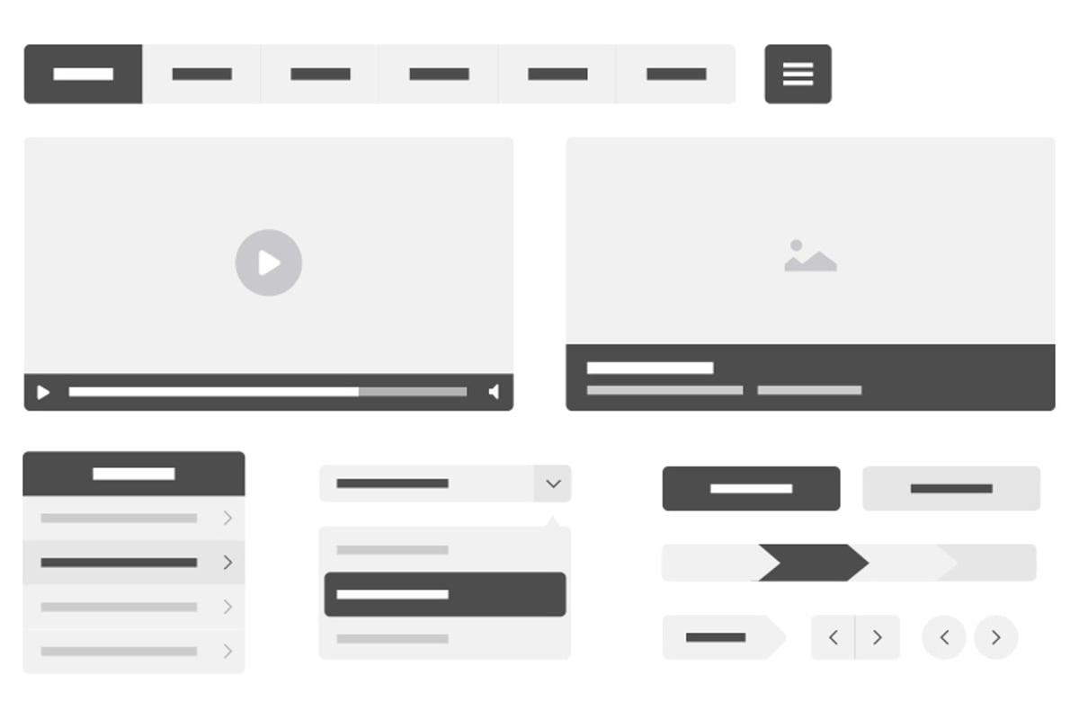 Vector Wireframe Kit — Medialoot
