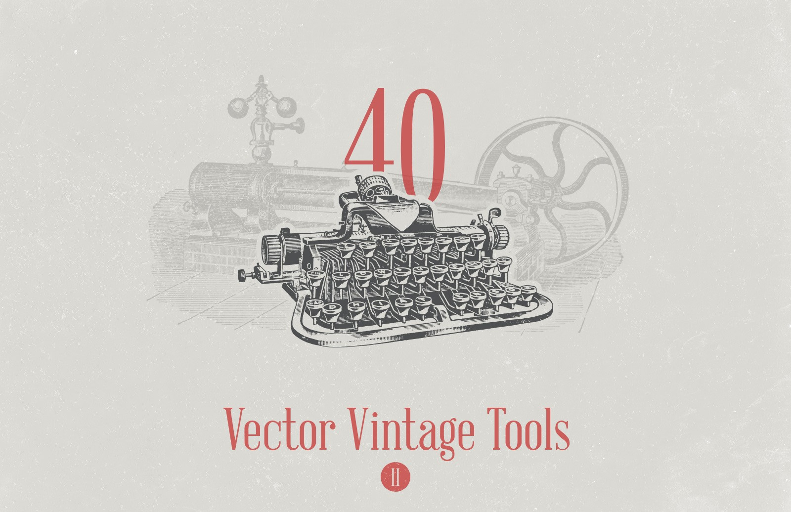 Vector Vintage Tools 2 Preview 1