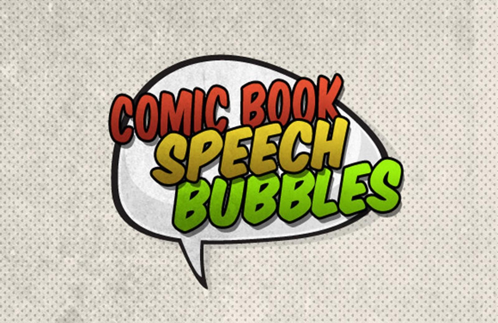 Vector  Comic  Book  Speech  Bubbles  Preview1