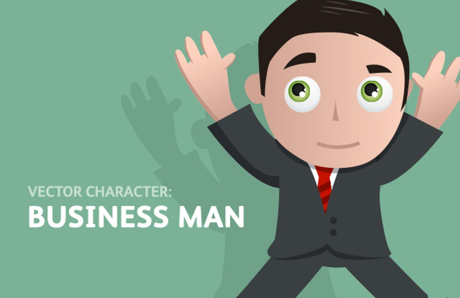 Vector  Character  Business  Man  Preview1