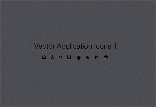 100 Vector Application Icons II