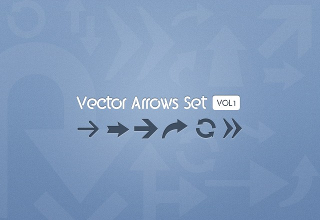 Vector  Arrows  Preview1