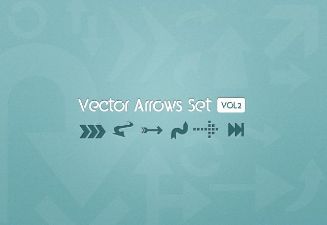 Vector Arrows Set - Vol 2