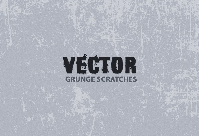 Vector Grunge Scratches
